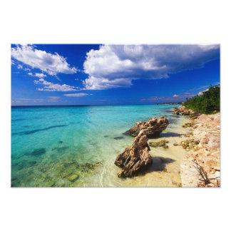 Beaches, Barahona, Dominican Republic, 3 Photo Print