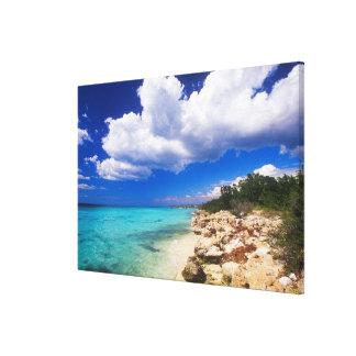Beaches, Barahona, Dominican Republic, Stretched Canvas Print