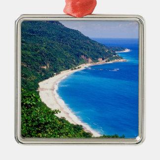 Beaches, Barahona, Dominican Republic, Christmas Tree Ornaments