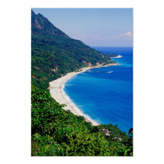 Beaches, Barahona, Dominican Republic, Poster