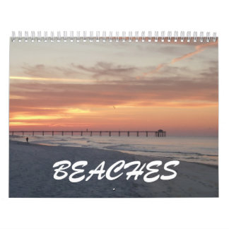 Beaches Custom Photo Wall Calendar Pictures