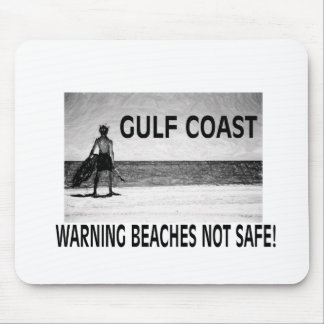 BEACHES NOT SAFE MOUSE PAD