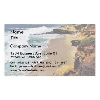 Beaches Ocean Cliffs La Jolla Business Card