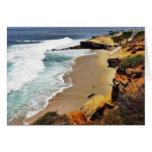 Beaches Ocean Cliffs La Jolla Greeting Card