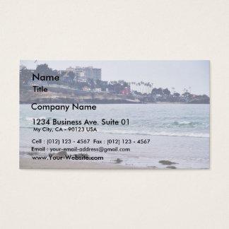 Beaches Ocean La Jolla Business Card