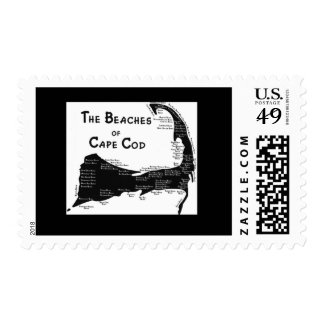 Beaches of Cape Cod - Customized P... - Customized Postage Stamps