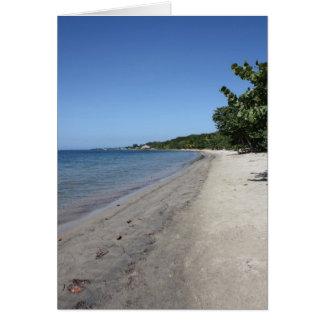 Beaches of Roatan Notecard Stationery Note Card