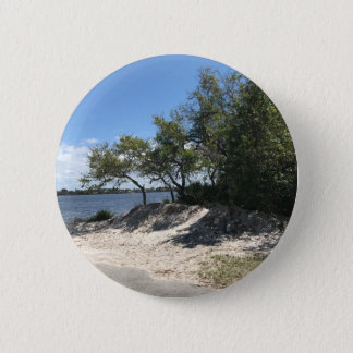 Beaches Pinback Button