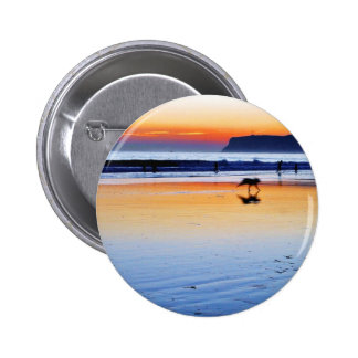 Beaches Point Loma Sunsets Pinback Button