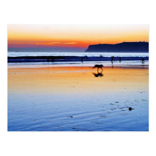 Beaches Point Loma Sunsets Postcards