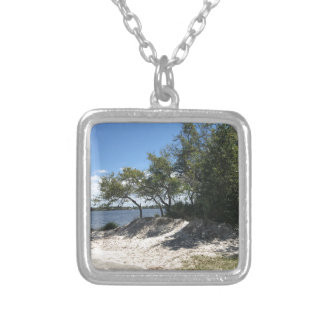 Beaches Silver Plated Necklace