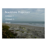 Beachfront Properties/Real Estate Business Cards