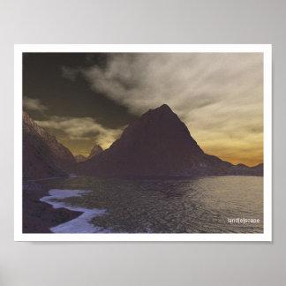 Beachfront Sunset Print