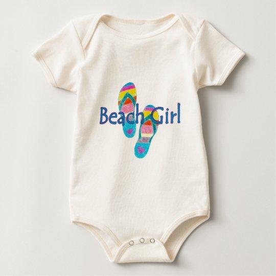 beachgirl baby bodysuit