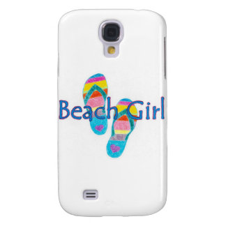 beachgirl galaxy s4 cover