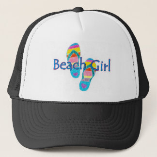beachgirl trucker hat