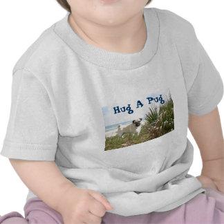 Beachgrass de la camiseta del bebé del abrazo del