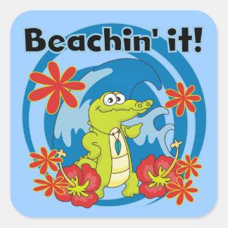 Beachin' It T-shirts and Gifts Sticker