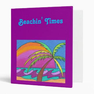 Beachin' Times - a scrapbook 3 Ring Binder