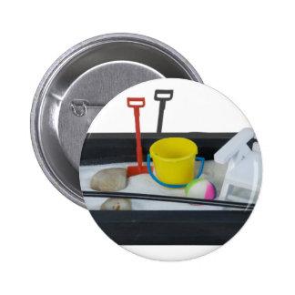 BeachItemsZenGarden011814.png Pinback Button