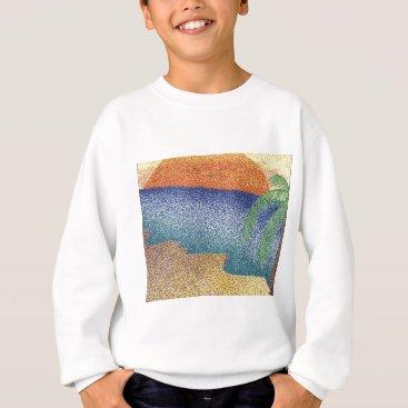 Beach Themed beachmarkerstipple.jpg sweatshirt