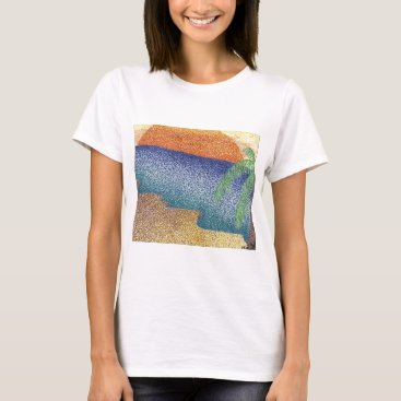 Beach Themed beachmarkerstipple.jpg T-Shirt