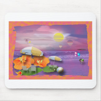 beachparty mouse pad