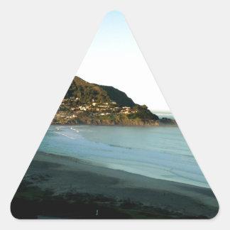 Beachphoto Triangle Sticker