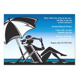 Beachside Party Invitation