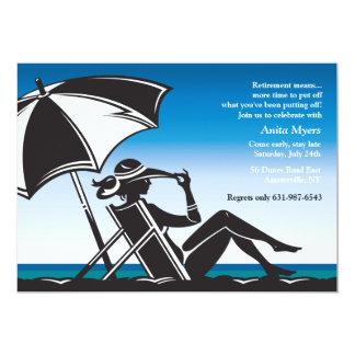 Beachside Retirement Party Invitation