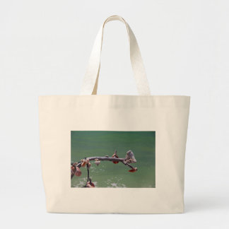 Beachtime on Boca Large Tote Bag
