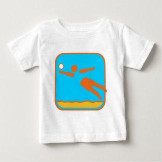 Beachvolleyball_dd.png Baby T-Shirt