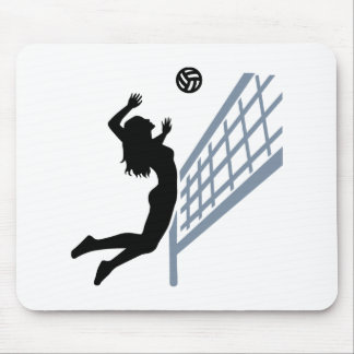 Beachvolleyball girl mouse pad
