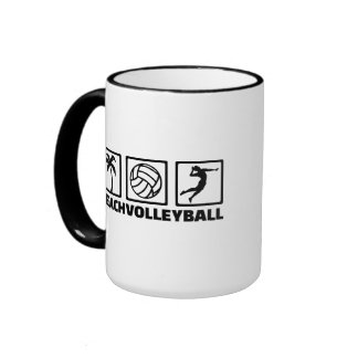 Beachvolleyball Coffee Mugs
