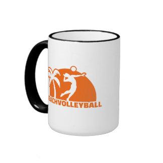 Beachvolleyball Coffee Mug