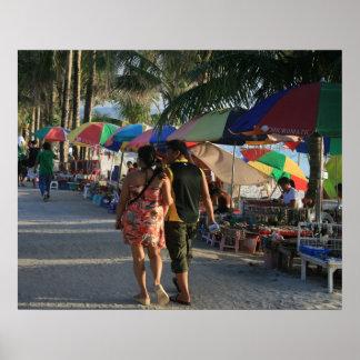 Beachwalk en Boracay, Filipinas Impresiones