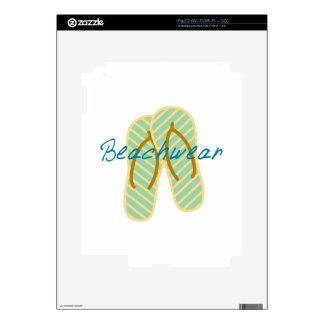 Beachwear iPad 2 Calcomanías