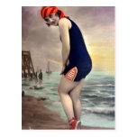 Beachwear patriótico postal