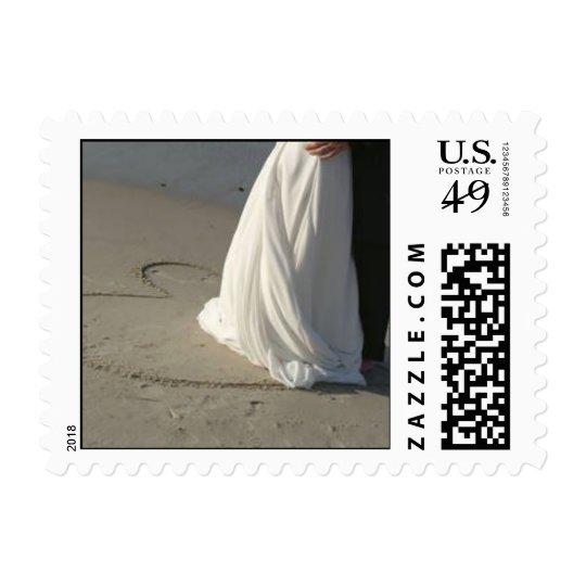beachwedding postage