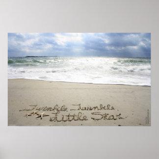 Beachwrite's Twinkle Twinkle Poster