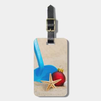 Beachy Christmas Bag Tag