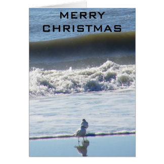 BEACHY CHRISTMAS WISHES CARD
