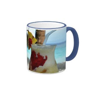 Beachy Cocktails Ringer Mug