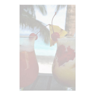 Beachy Cocktails Stationery