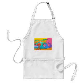 Beachy Day Adult Apron