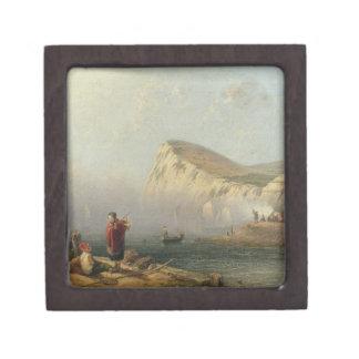 Beachy Head, 1850 (oil on canvas) Premium Gift Box
