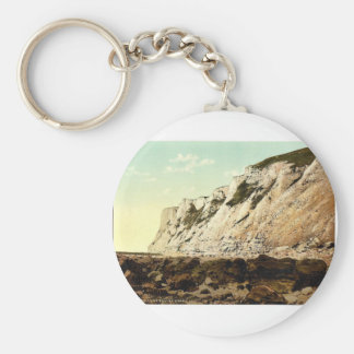 Beachy Head from below, Eastbourne, England rare P Key Chain