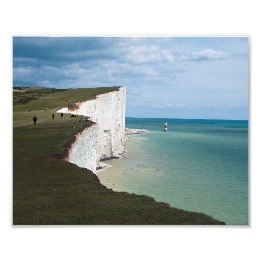 Beachy Head Photographic Print