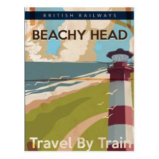 Beachy Head Vintage Travel poster Postcards