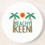 Beachy Keen Beverage Coaster